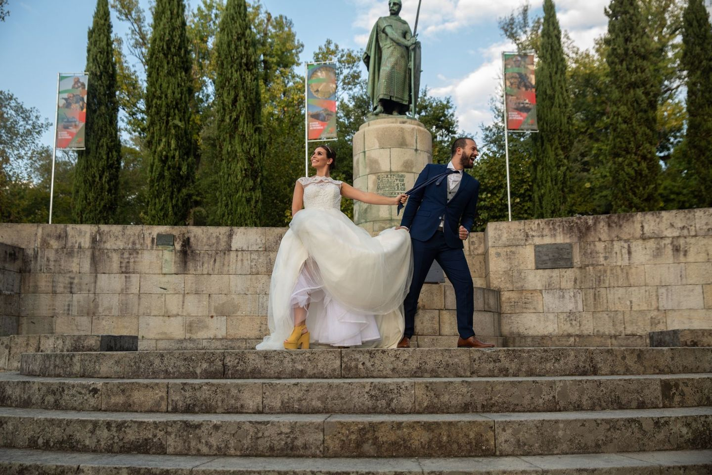 Trash the Dress em Guimarães