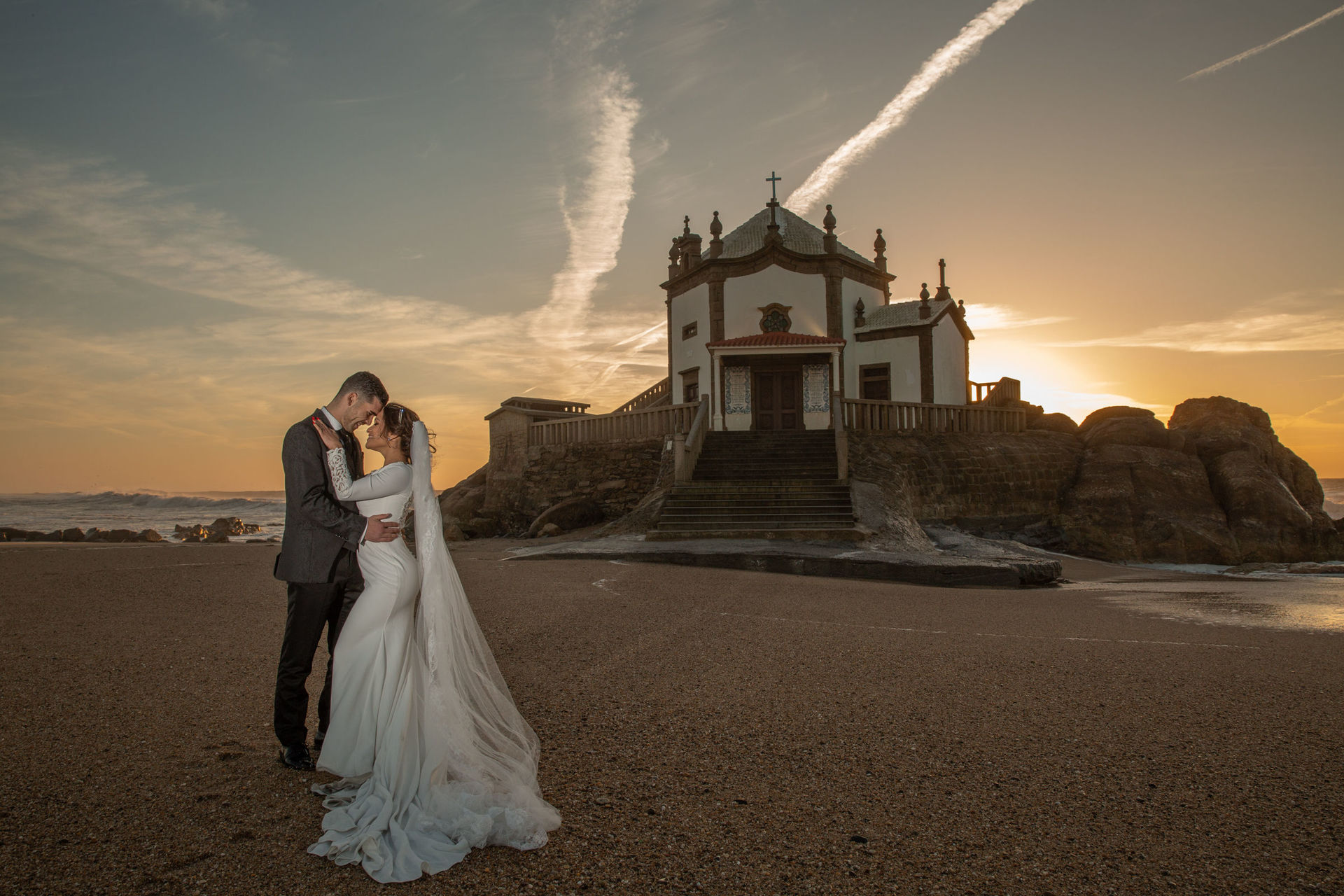Sessão fotográfica: Trash the Dress no Porto - Portugal da Wanessa e João